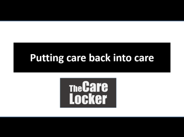 """Putting care back into care"""